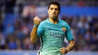 Alabès 0 - FC Barcelona 6 (1 minut)
