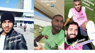 Un dia amb Rafinha a la Ciutat Esportiva