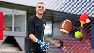 Secret Box: Jasper Cillessen takes the challenge