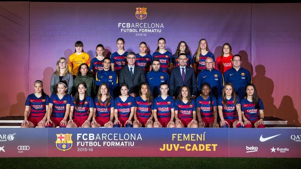 FC Barcelona Femenino Juvenil-Cadete - 2015 / 2016 - FC Barcelona