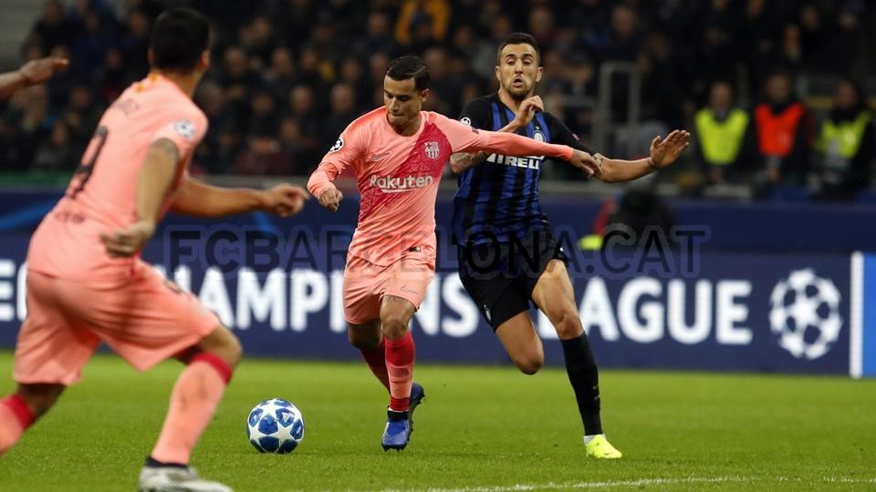 صور مباراة : إنتر ميلان - برشلونة 1-1 ( 06-11-2018 )  102164501