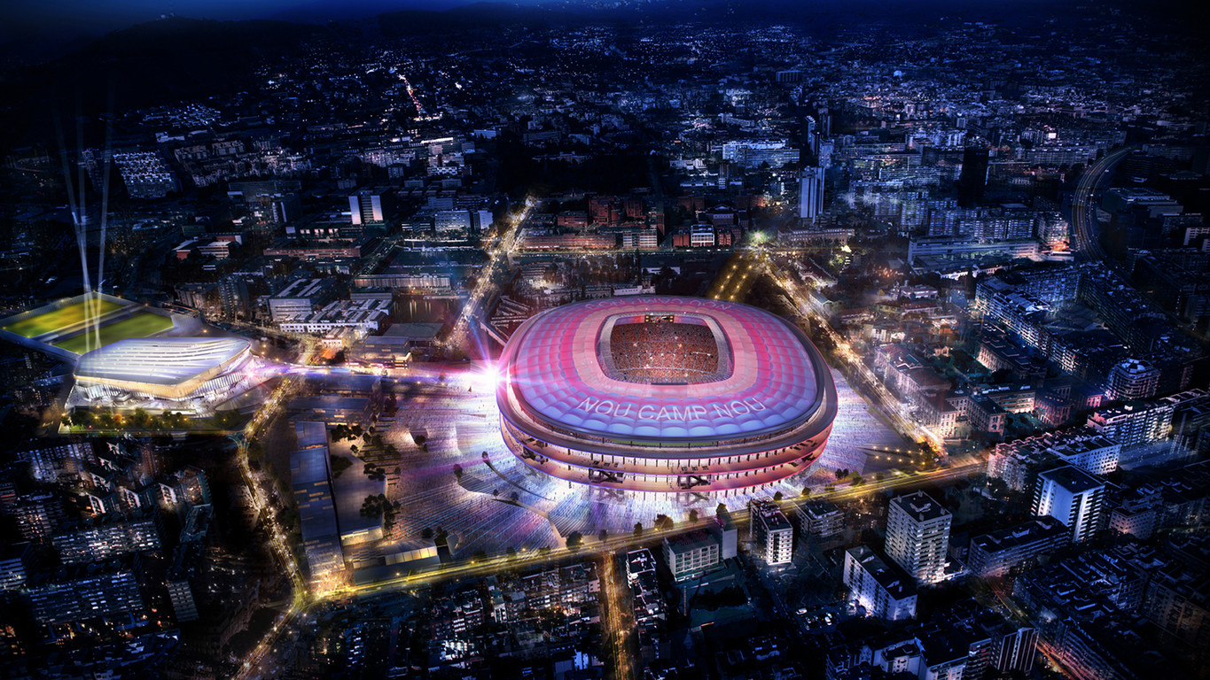 new camp nou - fc barcelona
