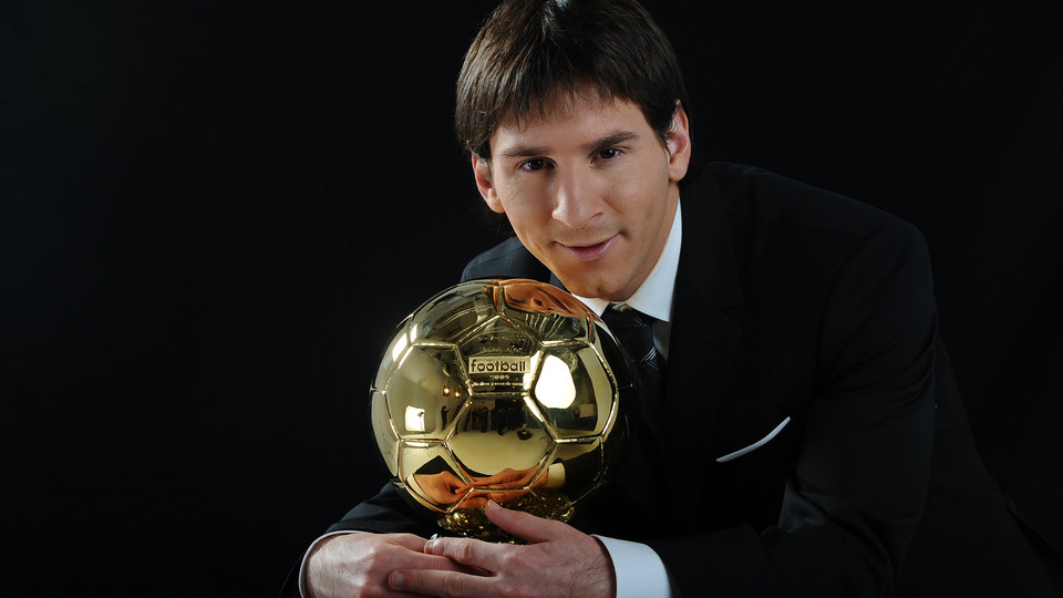 The staff at prestigious magazine France Football have chosen Leo Messi as 2009\u0027s best player with a total of 473 votes the highest ever achieved in the ...  sc 1 st  FC Barcelona & Leo Messi claims his first Ballon d\u0027Or - FC Barcelona