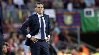 Ernesto Valverde: 'We were put under pressure and it was hard to attack'