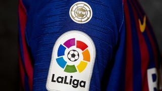 LaLiga will be the first side in history to use the new insignia, which will be worn by the defending champions throughout the season