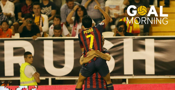 GOAL MORNING! Pedrito vs Rayo Vallecano!