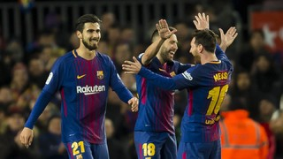 A quarts per la via Messi-Alba