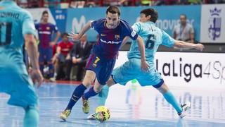 El Barça Lassa torna a Torrejón amb la moral pels núvols després d'empatar l'eliminatòria i busca completar la gesta i convertir-se en el primer campió de lliga que aconsegueix remuntar un 2-0 advers
