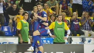 FC Barcelona Lassa - Naturpellet Segovia: Festival ofensivo del líder en el Palau (8-1)