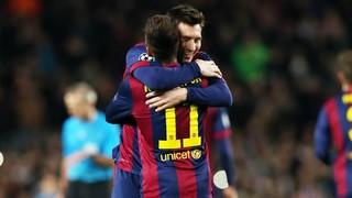FC Barcelona 3 - Paris Saint Germain 1 (3 minutes) (group stage 2014-15)