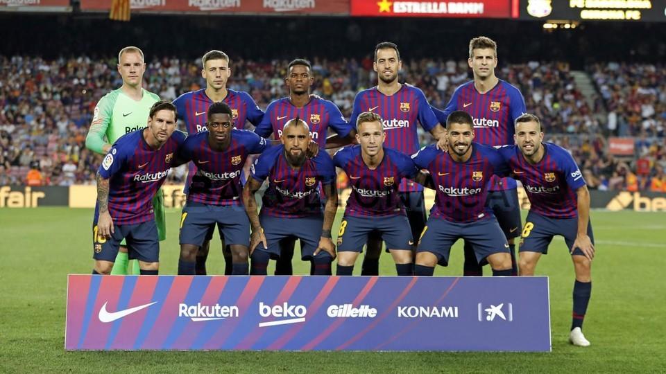 صور مباراة : برشلونة - جيرونا 2-2 ( 23-09-2018 )  99533779