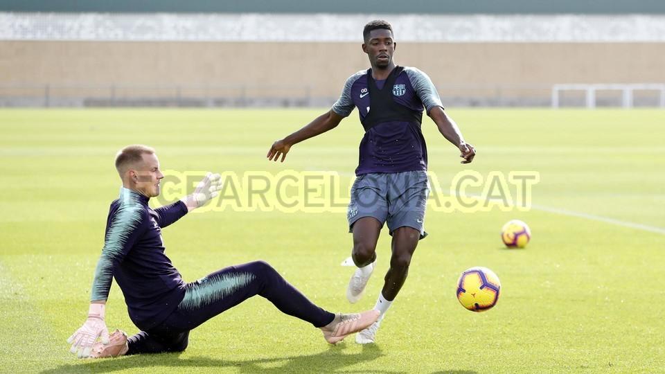 إستعدادات برشلونة لمباراة الكلاسيكو 26-10-2018 101593299