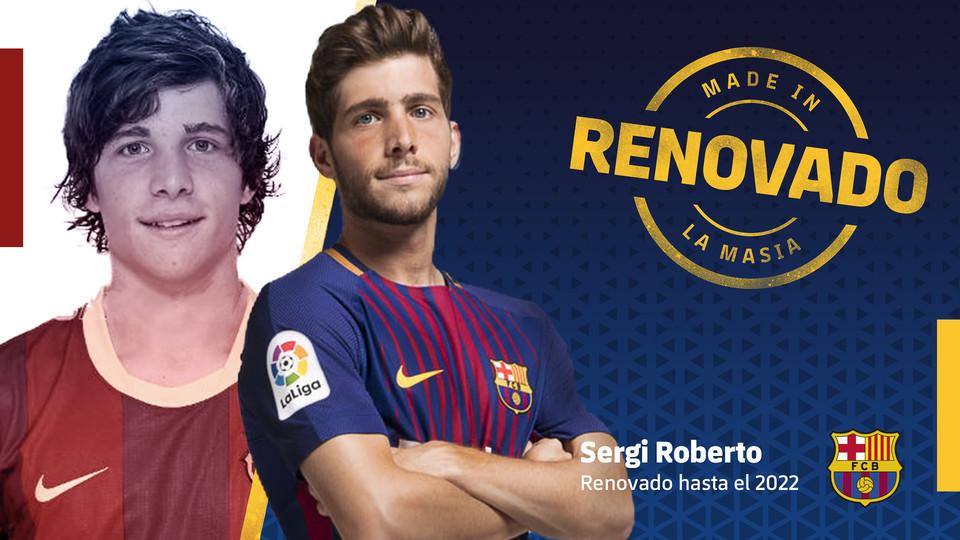 66861267 Sergi Roberto renueva hasta 2022 - Comunio-Biwenger