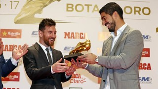 Golden Shoe award for Leo Messi