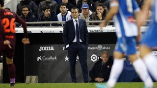 Ernesto Valverde believes his team deserved better from Wednesday's Copa del Rey visit to Espanyol, and he and his squad are anxious to make amends when the sides meet again in eight days' time