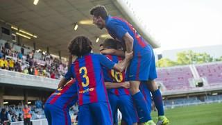 FC Barcelona B 3 - Ebro 0