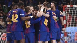 FC Barcelona Lassa 28 - Wisla Plock 27 (Champions League)