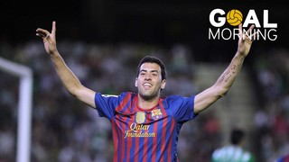 Goal Morning! Do you rememeber this goal by Sergio Busquets against Betis?