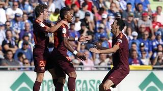 Getafe 1 – FC Barcelona 2 (1 minut)