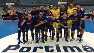 FC Barcelona Lassa – Sporting Club de Portugal: Triomf d'orgull per tancar la Masters Cup (4-3)
