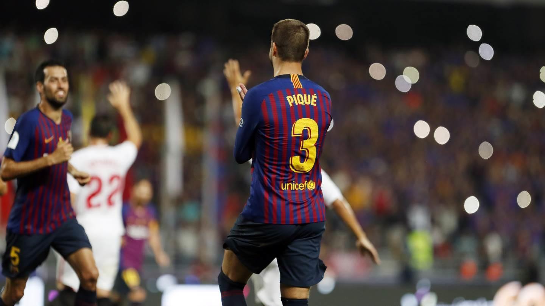 صور مباراة : برشلونة - إشبيلية 2-1 ( 13-08-2018 )  95762900
