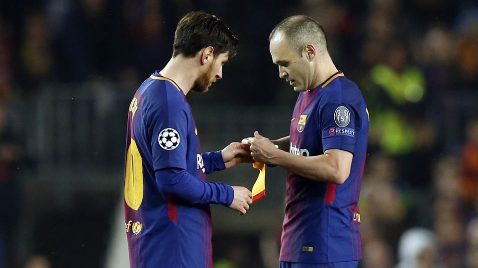 Andres Iniesta Featured In Barcas Recent Game Against Chelsea