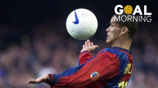 Goal Morning! Rivaldo, a magician in El Sardinero