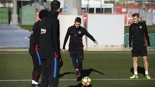 Ernesto Valverde's squad trained at the Ciutat Esportiva on Thursday to begin preparations for this weekend's LaLiga fixture