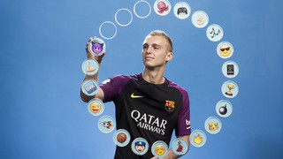 What does Jasper Cillessen think of his teammates?