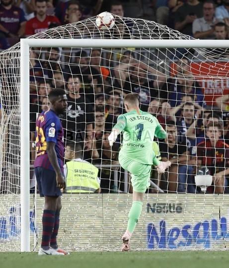 صور مباراة : برشلونة - جيرونا 2-2 ( 23-09-2018 )  99596502
