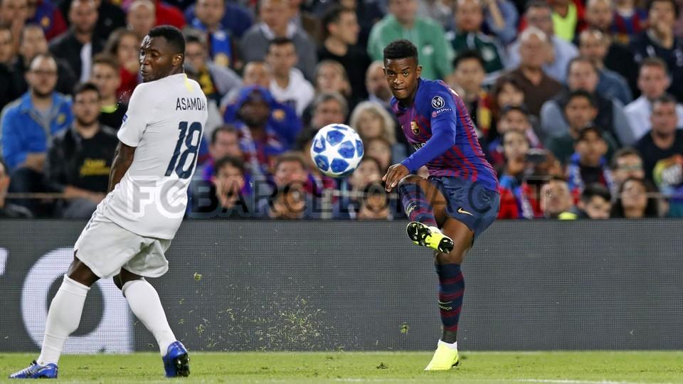 صور مباراة : برشلونة - إنتر ميلان 2-0 ( 24-10-2018 )  101529046