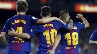 (Movistar Partidazo, 22.00 hores) Els culers afronten el segon compromís d'una setmana frenètica amb tres partits en set dies. Al davant tindran l'Eibar, l'últim equip visitant que ha aconseguit marcar un gol a la Lliga al Camp Nou