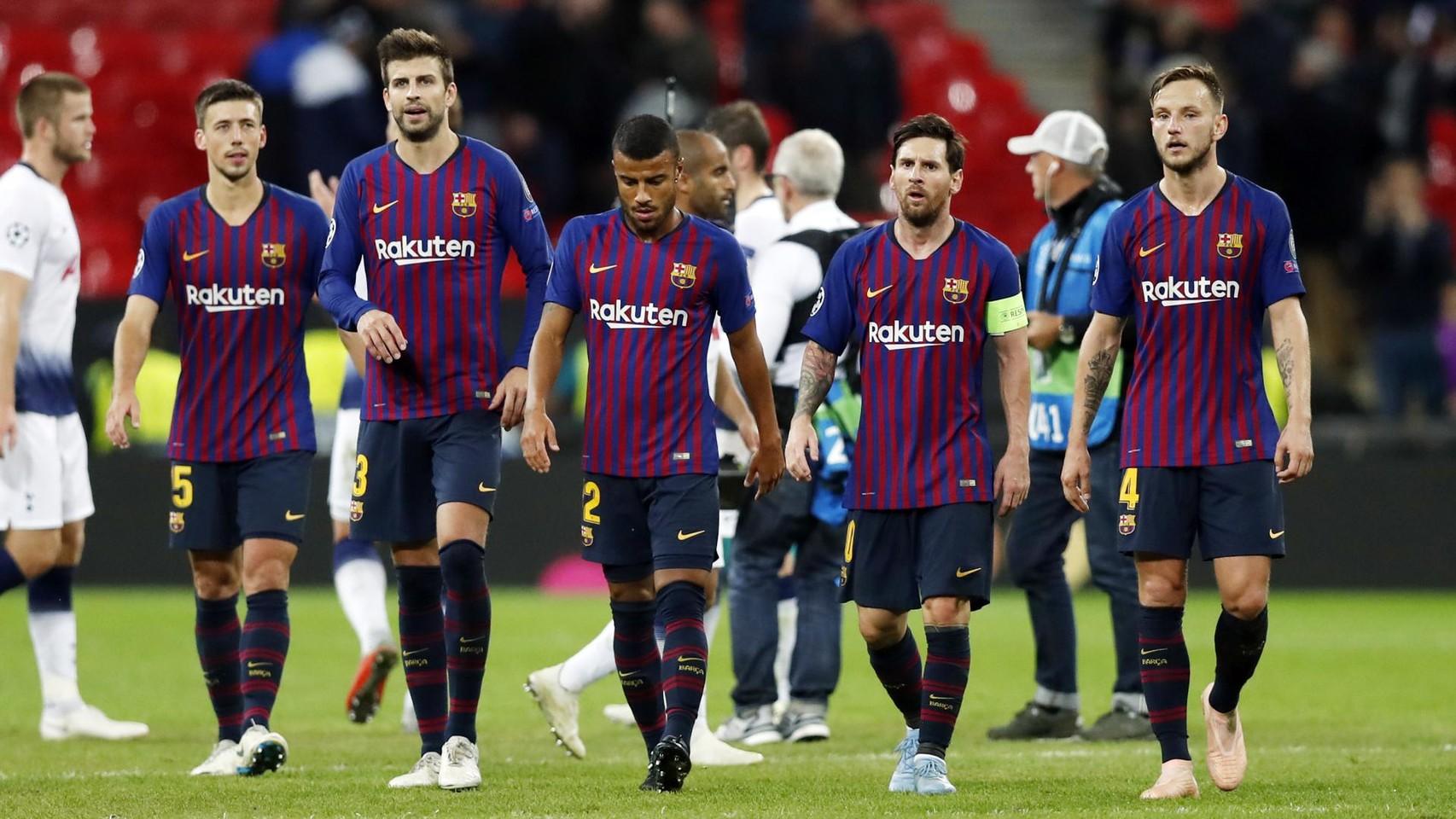 صور مباراة : توتنهام - برشلونة 2-4 ( 03-10-2018 )  100686550