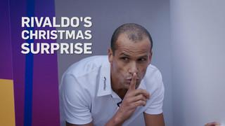La sorpresa de Navidad de Rivaldo...