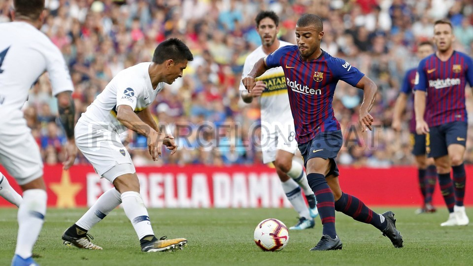 صور مباراة : برشلونة - بوكا جونيورز ( 16-08-2018 )  95975127