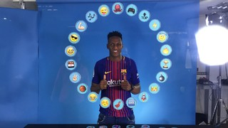 Barça Emojis: Yerry Mina defines his roommates