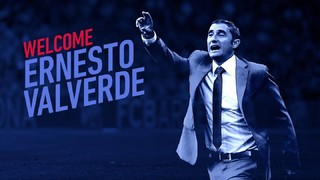 Ernesto Valverde is the new FC Barcelona coach