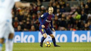 La vareta màgica d'Iniesta contra el Deportivo