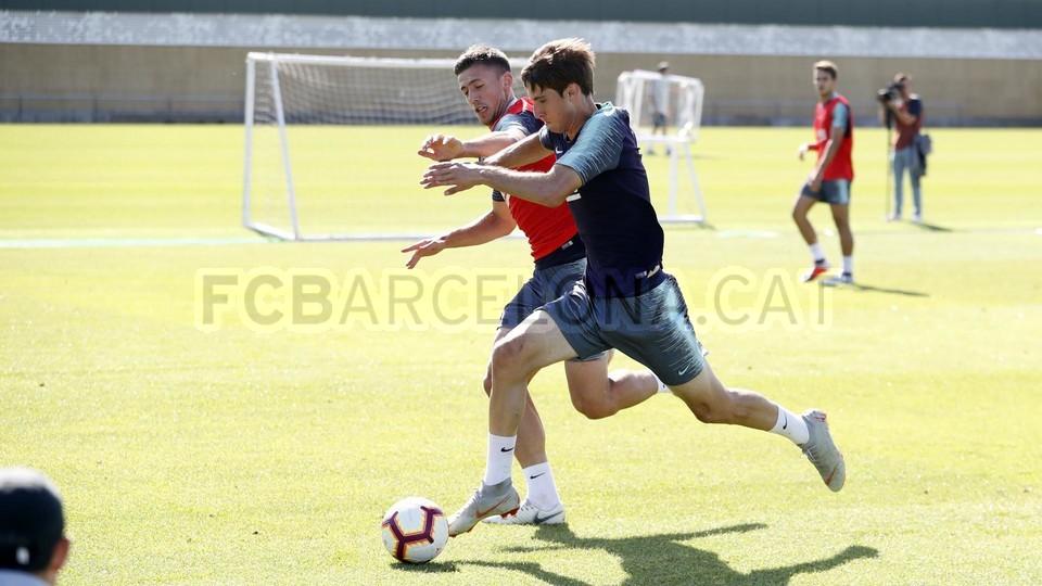 تدريبات مكثفة في برشلونة بعين على مباراة السبت Vs أتلتيك بيلباو 99864535