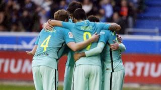 Alavés 0 - FC Barcelona 6 (3 minutos)
