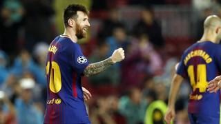 Todos los goles de falta de Leo Messi con el Barça