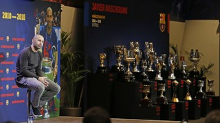 """Javier Mascherano: """"Vaig complir un somni i ara és hora de despertar"""""""