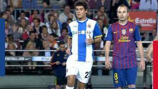 El día que Coutinho jugó un derbi en el Camp Nou