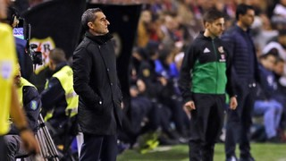 Ernesto Valverde: 'The character of this team was important'