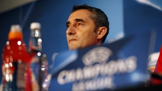 The Barça coach says, 'We are looking forward to the Champions League, it has a special aura'