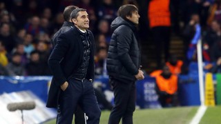 Ernesto Valverde: 'We are happy, the Camp Nou will be decisive'
