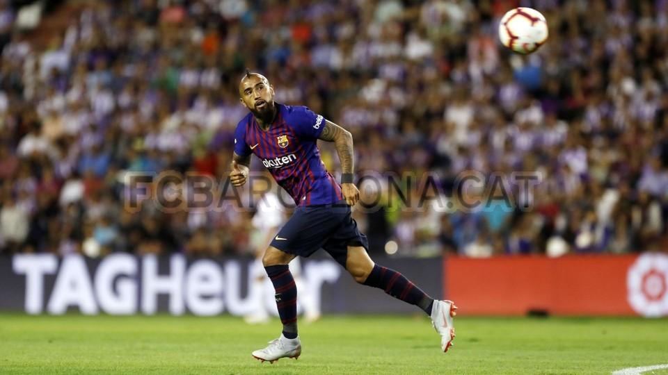 صور مباراة : بلد الوليد - برشلونة 0-1 ( 25-08-2018 )  96710874