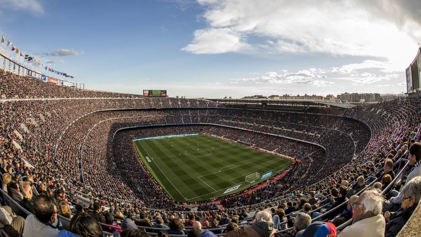 Barça fans know the importance of their presence in the stands of the Stadium and in the last four games the average attendance has been 89,252, spectacular numbers