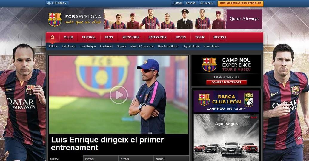 fc barcelona website