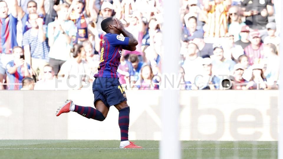 صور مباراة : برشلونة - بوكا جونيورز ( 16-08-2018 )  95974363